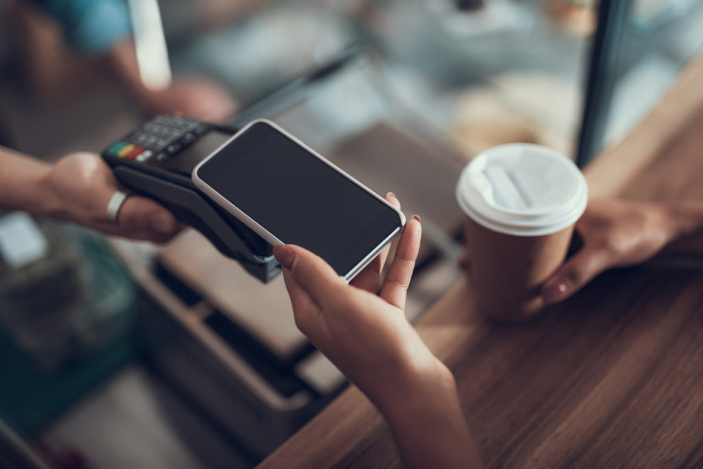Making Payment using mobile device