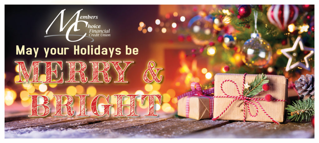 May your holiday be Merry & Bright