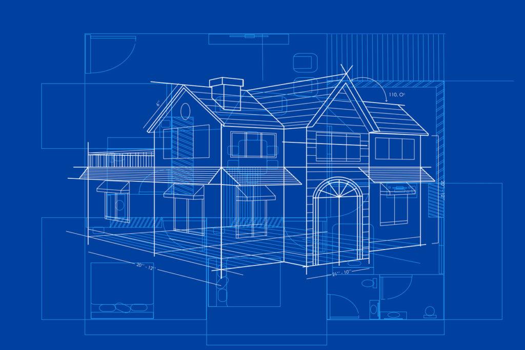 Blueprint of House